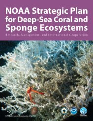 NOAA Strategic Plan for Deep-Sea Coral and Sponge Ecosystems ...