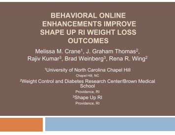 behavioral online enhancements improve shape up ri weight loss ...