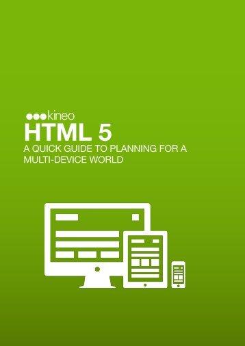 HTML 5 - Kineo