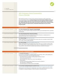 2011 Enterprise Green Communities Criteria Checklist