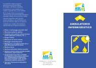 AMBULATORIO INFERMIERISTICO - ASL n.3 Genovese