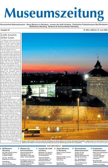 Museumszeitung, Ausgabe 25 vom 18. März 2008