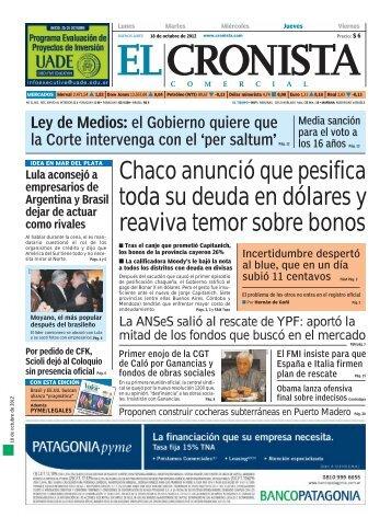 economia&política - Cronista.com