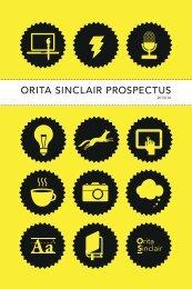 C M Y M Y Y MY K - Orita.Sinclair School of Art and New Media