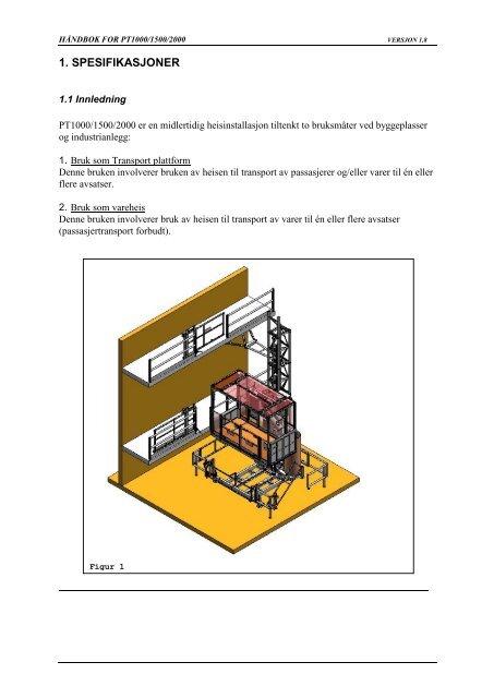 Arbeidsplattform og vareheis 1400 kg.pdf