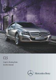 Mercedes-Benz CLS Coupé és Shooting Brake kezelési útmutató ...