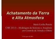 Achatamento da Terra e Alta Atmosfera