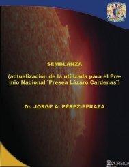 SEMBLANZA - Universidad Nacional Autónoma de México