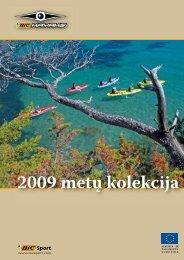 BICKAYAK baidarių katalogas 2009 LT - Bigreta