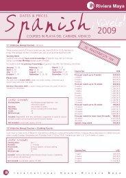 IH Riviera Maya Prices 2009