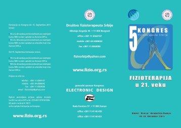 ELECTRONIC DESIGN - društvo fizioterapeuta srbije