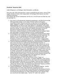 Rundbrief 2000 - Evangelische Krankenhausseelsorge in Westfalen