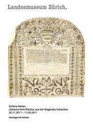 Schöne Seiten. Jüdische Schriftkultur aus der Braginsky  Collection