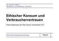 Ethischer Konsum und Verbrauchervertrauen - Utopia.de