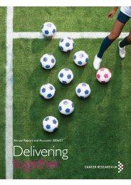 Delivering together - Cancer Research UK