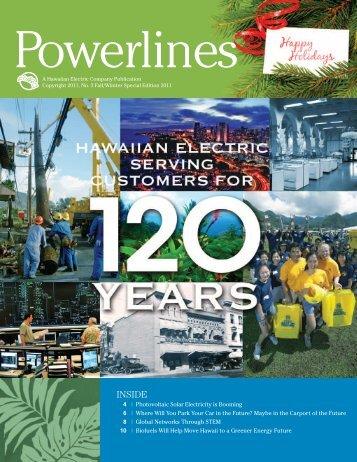 Powerlines - Hawai'i Space Grant Consortium