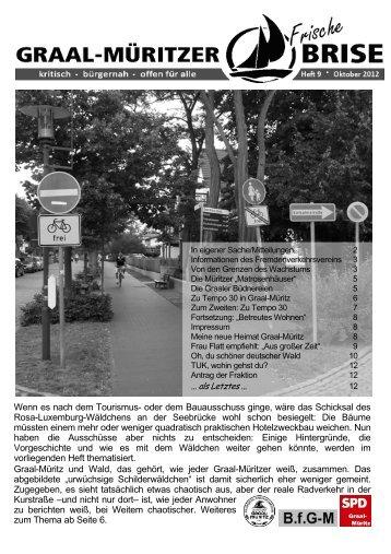 Frische Brise Heft 9 - SPD Ortsverein Graal-Müritz