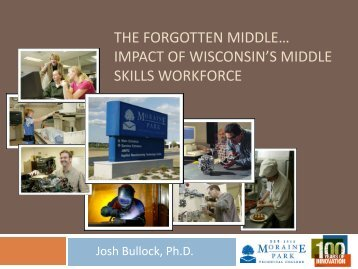 the forgotten middle… - Moraine Park Technical College