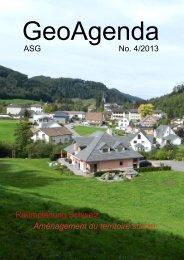GeoAgenda - Verband Geographie Schweiz