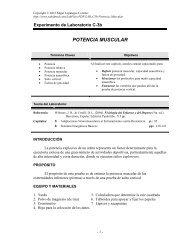 POTENCIA MUSCULAR - Saludmed