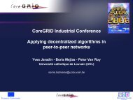 Workpackage 2 Objectives - CoreGRID Network of Excellence