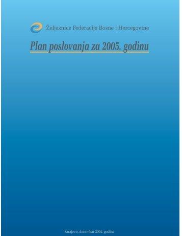 plan poslovanja za 2005.