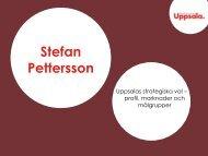 Profil, marknader och målgrupper - Destination Uppsala