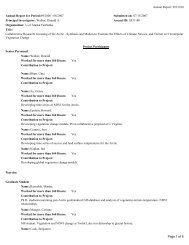 0531180 Page 1 of 8 Annual Report for Period:09/2006 - 08/2007 ...
