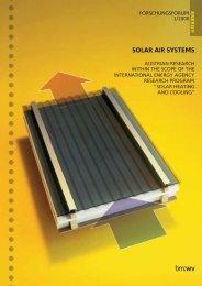 SOLAR AIR SYSTEMS - NachhaltigWirtschaften.at