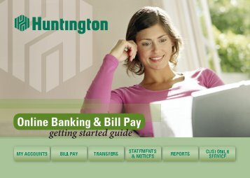 Online Banking & Bill Pay - Huntington