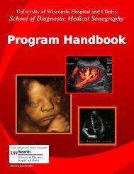 Program Handbook - UW Health