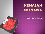 KEMASAN ISTIMEWA - Blogs Unpad