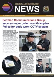 download the Winter 13 Newsletter - Scottish Communications