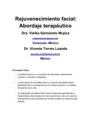 185 Rejuvenecimiento Facial abordaje terapéutico - Antonio ...