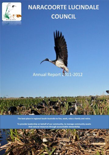 2011/2012 Annual Report - Naracoorte Lucindale Council - SA.Gov.au