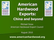 Forest Products Trade between the US and China - Wdscapps.caf ...