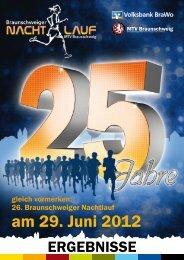 am 29. Juni 2012 - Braunschweiger Nachtlauf