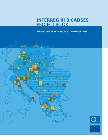 INTERREG III B CADSES PROJECT BOOK - Infocooperare