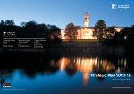 Strategic Plan 2010-15 - University of Nottingham
