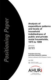 Analysis of expenditure patterns and levels of household ...