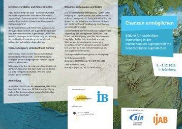 Chancen ermöglichen - IJAB
