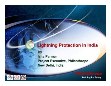 Lightning Protection in India - National Lightning Safety Institute