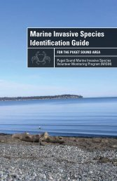 Marine Invasive Species Identification Guide for the Puget Sound Area