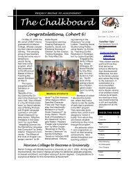 58th Edition June 2008 - Marian University