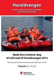 Haraldvangen - Røde Kors