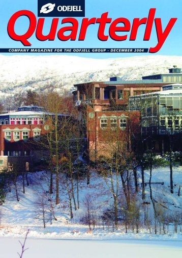 company magazine for the odfjell group - december 2004