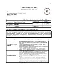 The Ontario Curriculum Grade 11 and 12: Science 1 - MPSJ ca