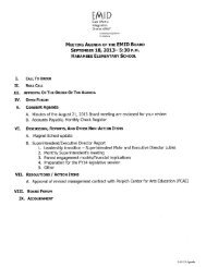 board packet - East Metro Integration District 6067