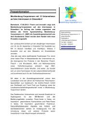 PM_Intermessen.pdf - AGRARMARKETING Mecklenburg ...