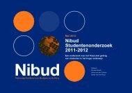 Nibud Studentenonderzoek 2011-2012